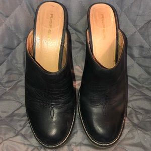 Roper Leather Mules